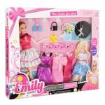 """Кукла """"Модный образ"""" 28 см+4 платья НР1110852"""
