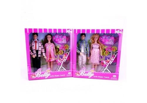 Набор кукол Счастливая семья 3356