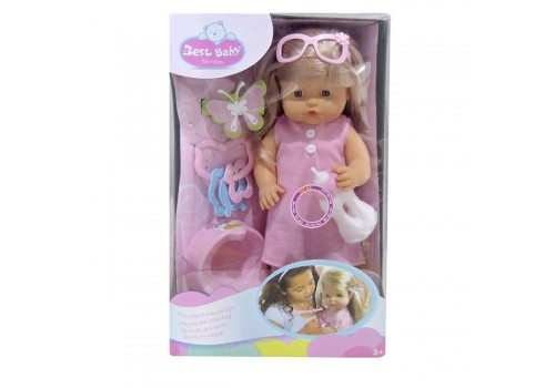 Кукла функциональная BEST BEBY 40см 100997313