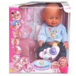 Кукла Warm baby, с горшком и аксессуарами, пъет и писает 8004-417