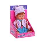 Кукла малышка Алина с косичками озвученная  5086 22 см