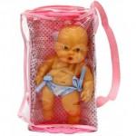 Кукла Пупсик в кроватке 20 см 214 046V