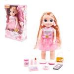 Кукла Милана 37 см в салоне красоты с аксессуарами 5 элементов