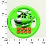 Руль электронный на батарейках, озвученный, в ассортименте, в пакете 1111В132