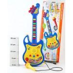 Музыкальная электро-гитара с микрофоном 719
