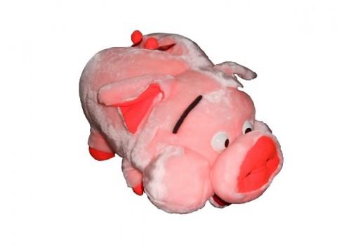 Мягкая игрушка Свинка 50 см