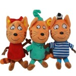 Мягкая игрушка Три кота 35 см