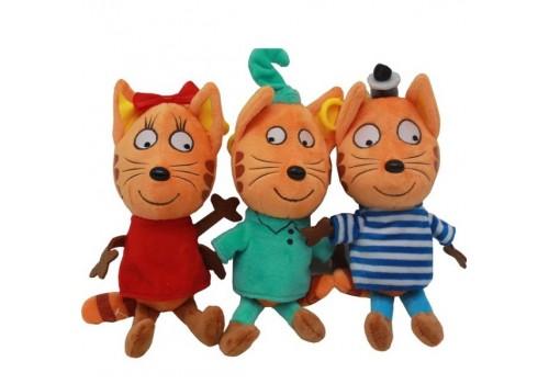 Мягкая игрушка Три кота 18 см