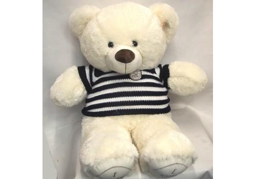 Большой мягкий медведь в кофте 80 см 1388-70