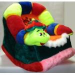 Детское мягкое кресло-качалка Гусеница КБ22