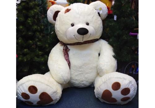Медведь большой с бантом мягкий 150 см