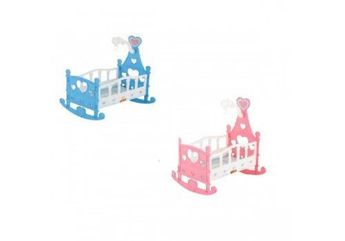 Кроватка-качалка сборная для кукол №3 8 элементов 62079
