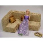 Мебель Уголок и 2 подушки 005А (в сумке)