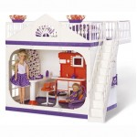 Дачный дом для кукол Конфетти Огонёк С-1361