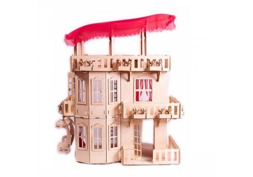 Деревянный Чудесный Дом для кукол ДК-2