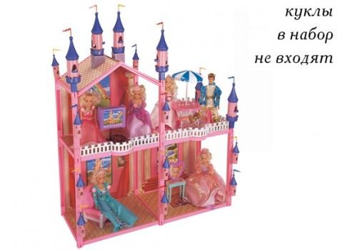 Дом для куклы с мебелью 102 детали 206