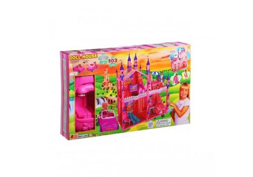 Дом для куклы с мебелью машиной 236