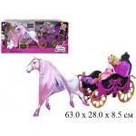 Карета с лошадью, куклой и аксессуарами 689Y