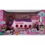 Игровой набор кукла Лол с самолетом 2346