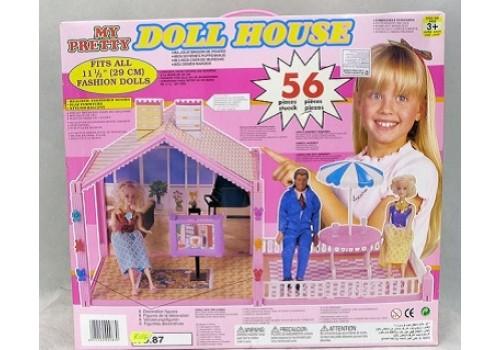 Дом для кукол с мебелью Дрим Хаус 86/87