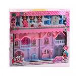 Дом для куколок Лол Lol со светом и звуком, 3 куколки и мебель