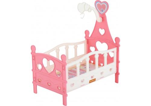 Кроватка сборная для кукол №3 6 элементов 62055