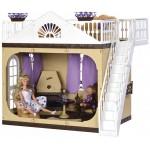 Дачный дом для кукол Коллекция С-1360 Огонёк