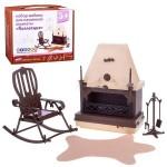 Набор мебели для каминной комнаты Коллекция Огонёк С-1301