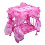 Кроватка для куклы с балдахином FL990 СА016647