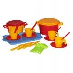 Игровой набор детской посуды Хозяйка 4 персоны М1915