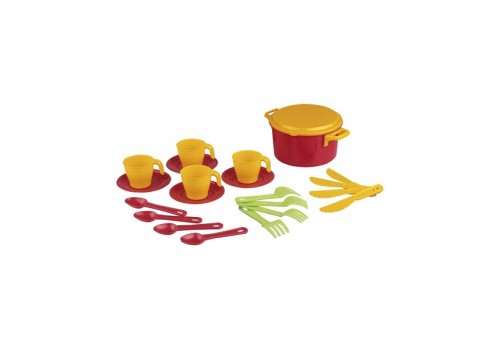 Игровой набор детской посуды Хозяйка столовый 4 персоны М2225