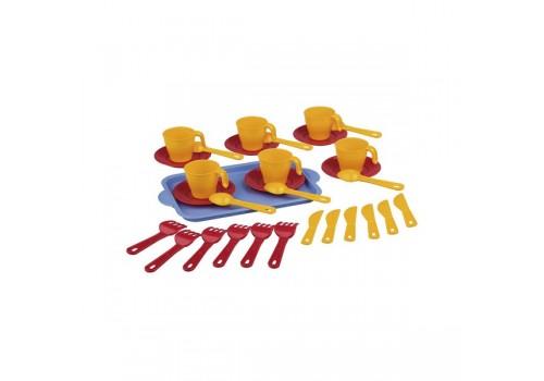 Игровой набор детской посуды Хозяйка чайный 6 персон 2224М