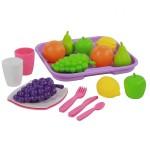 Набор продуктов №2 с посудой и подносом 46970