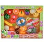 Набор фруктов и овощей для резки Ням-Ням Т218-D1368