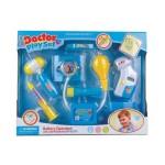 Набор доктора 6 предметов, свет, звук в коробке 6012С/8012С