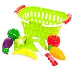 Набор продуктов для резки на липучках 15 предметов Помогаю маме РТ-00470