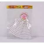 Одежда для кукол барби  в пакете 8018