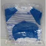 Одежда для пупса арт. 81 Комбинезон с шапочка 38-42см