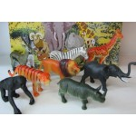 """Набор зверей """"Животные джунглей"""" 14 см"""