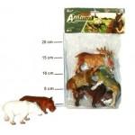Набор резиновых Диких животных А592