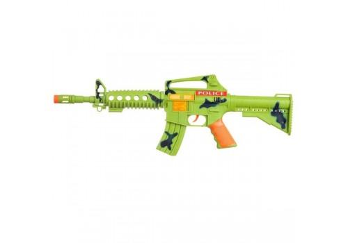 Оружие автомат пластмассовый, звук, свет M4115B
