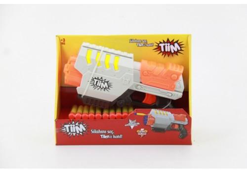 Бластер с мягкими пулями в коробке JT009 3022