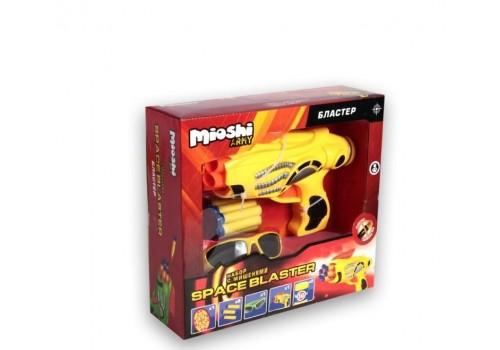 """Бластер с мягкими шарами Mioshi Army """"Space blaster"""" MAR1102-00"""