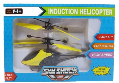Вертолет летающий 19 см на аккумуляторе USB
