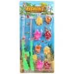 Детская игра рыбалка 2 удочки, 8 рыбок 1103-14/В1708278