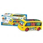 Автобус на батарейках со светом и звуком 1688