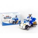 Мотоцикл с фигуркой на батарейках 902A