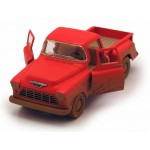 Машина металлическая Chevy Stepside pick-up 1955 с эффектом грязи КТ5330DY