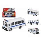 Автобус металлический инерционный Технопарк ПАЗ Полиция открывается дверь 6523-F