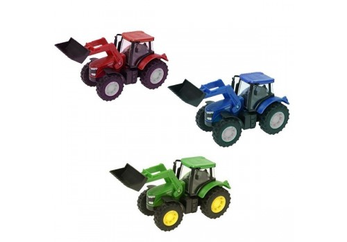 Трактор металлический Фермер малый 955-81/82